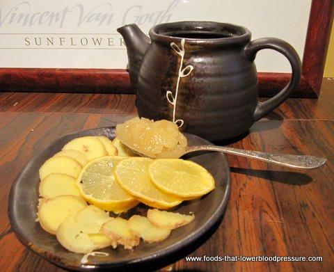 Ginger tea for High Blood Pressure