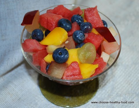 Easy Fruit Salads On 1200 Calorie DASH diet