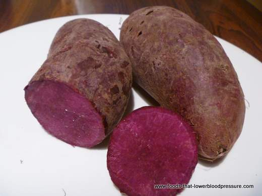 Purple Potato - Food That Lowers Blood Pressure