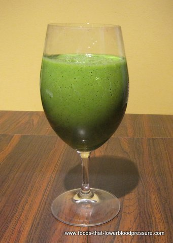 Green smoothie for 1200 calorie diet