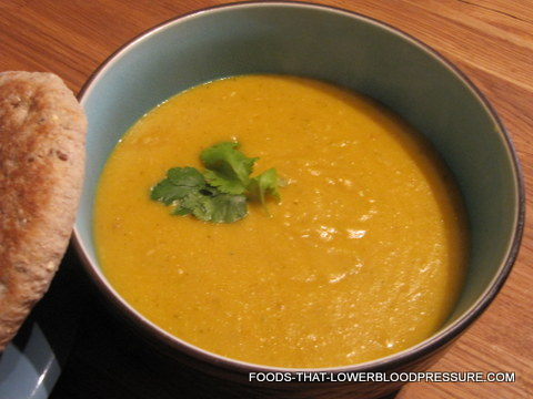 Lentil Soup Recipes: Easy Vegetarian Apricot Lentil Soup Recipe